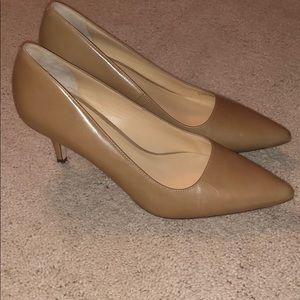 """Cole Haan Nude heels 2.5"""""""